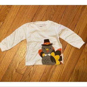 Carters Baby Turkey Shirt